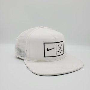 Nike Golf Mens Mesh Flat Snapback Hat Cap